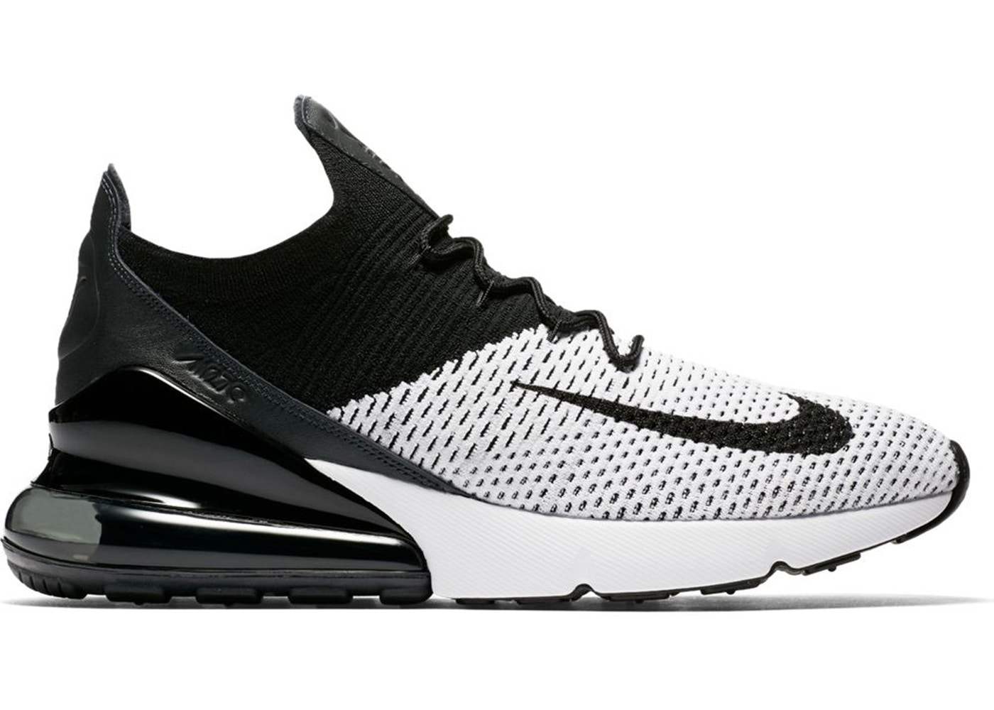44822bed Sell. or Ask. Size: 10. View All Bids. Air Max 270 Flyknit White Black