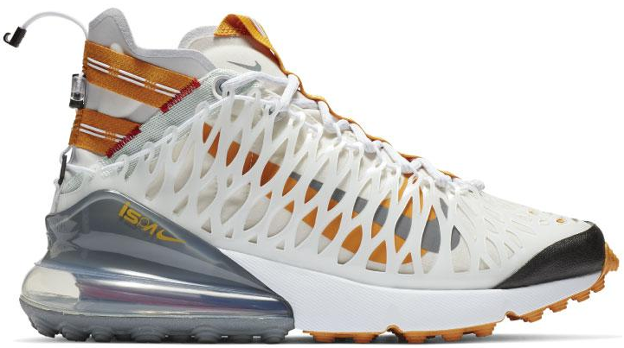 Nike Air Max 270 ISPA White Amber Rise
