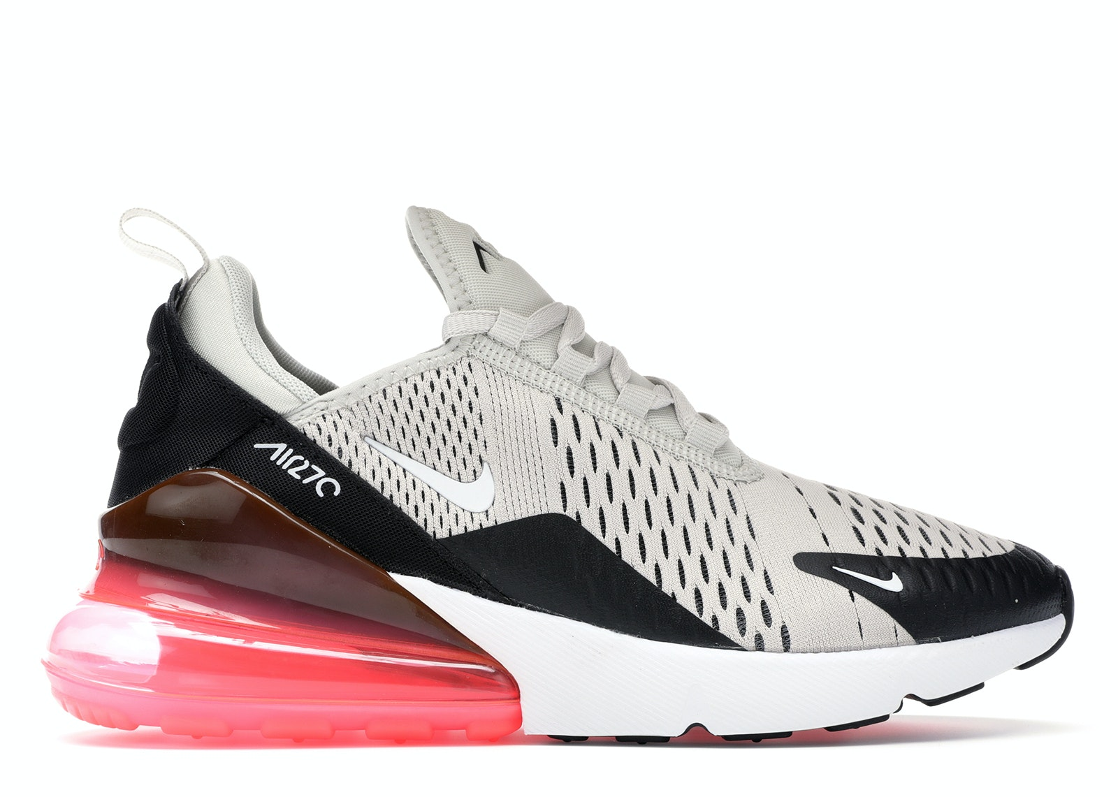 Air Max 270 Gs Black Ember Nike 943345 013 Goat