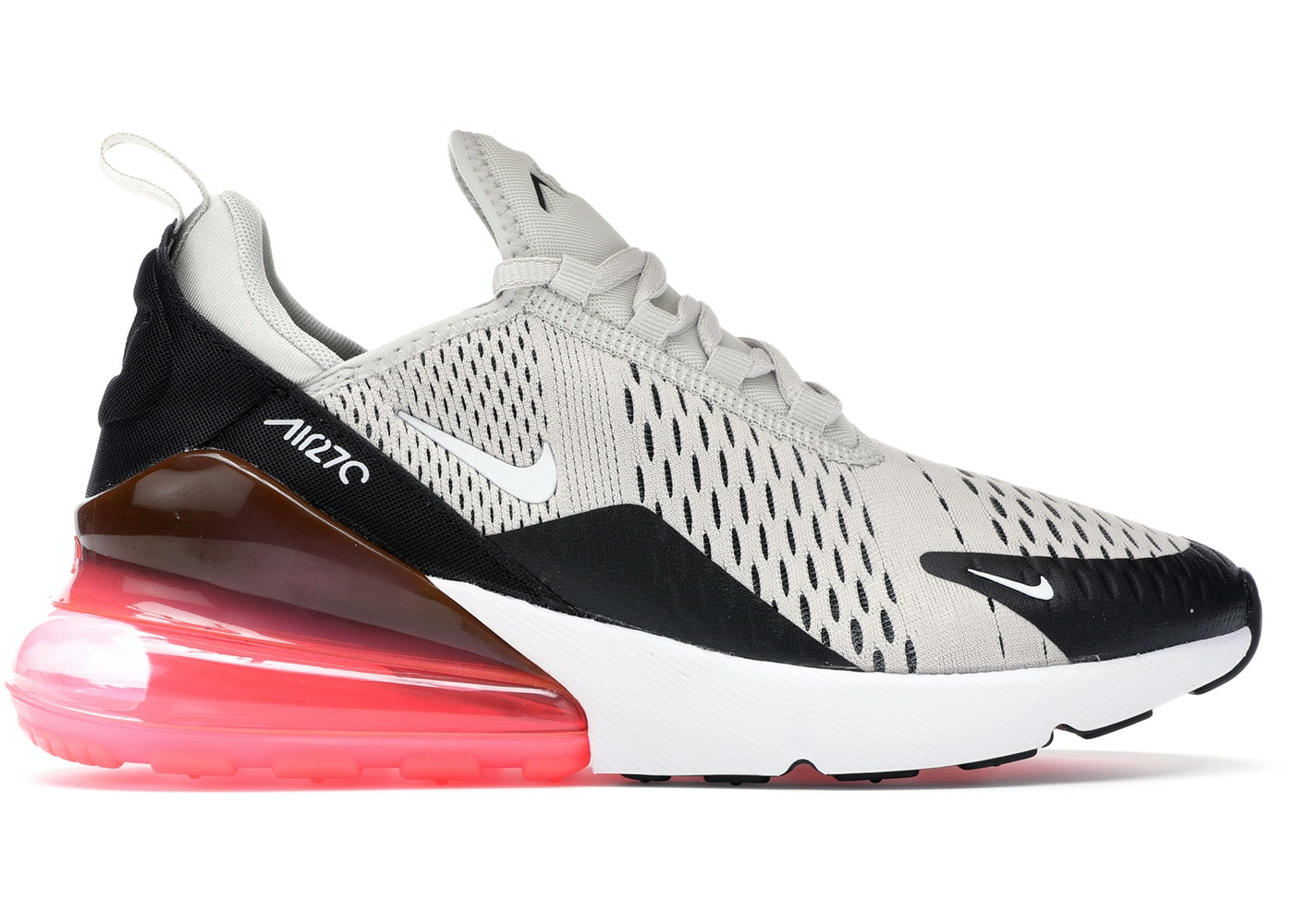 A volte a volte Caccia costumi  Nike Air Max 270 Light Bone Hot Punch (GS) - 943345-002