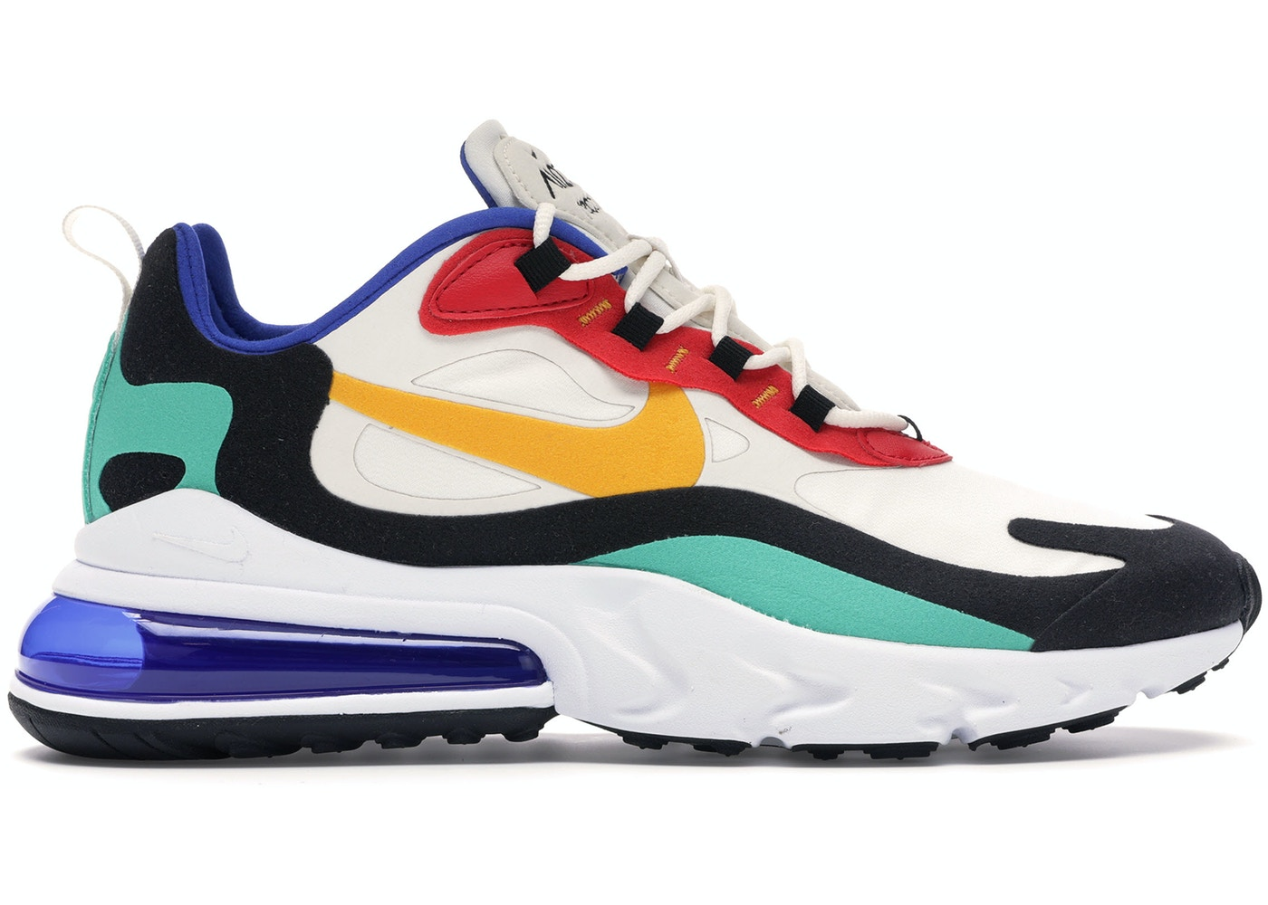 info for 48c64 b2b33 Air Max 270 React Bauhaus