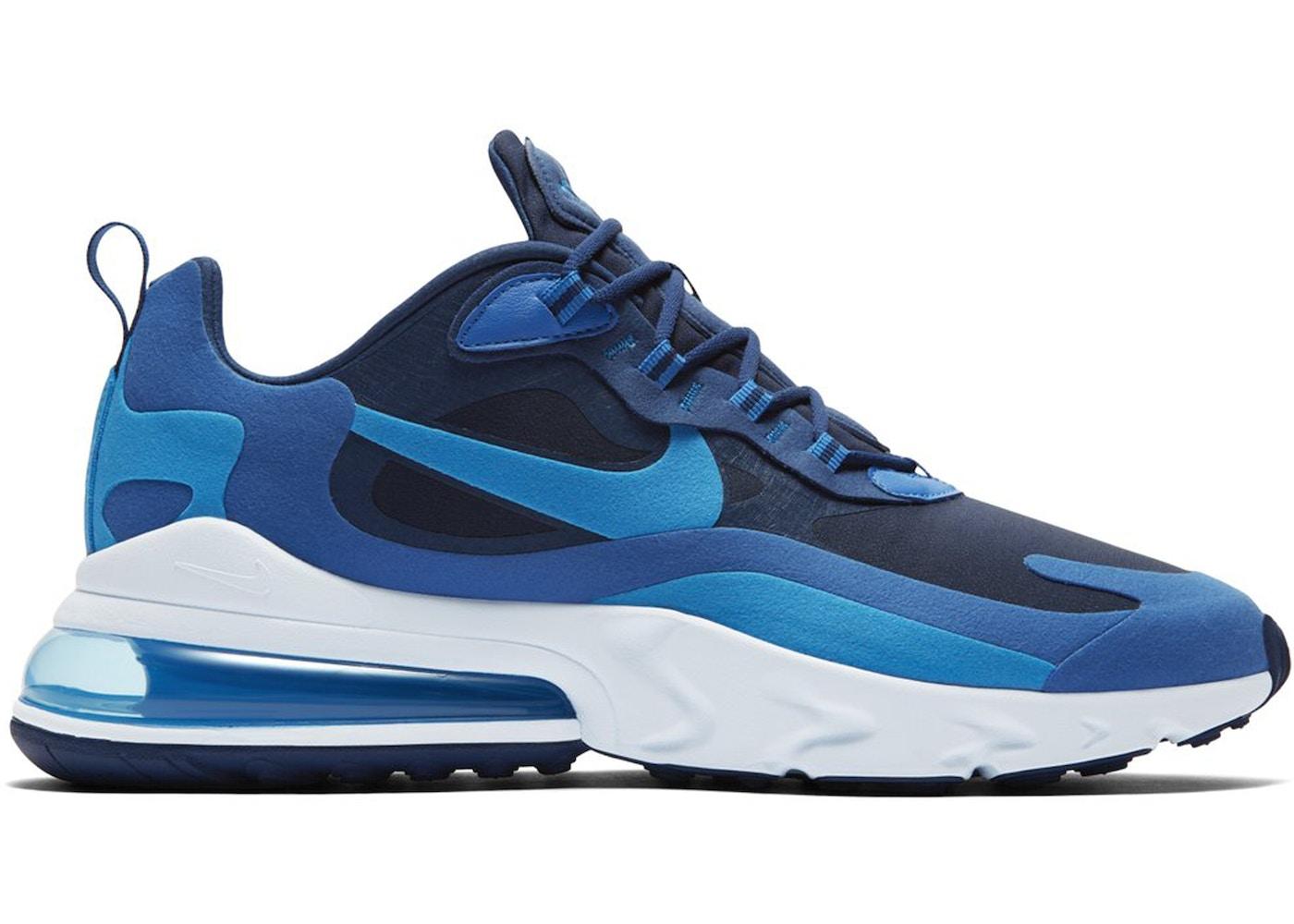 Nike Air Max 270 React Blue Void Ao4971 400