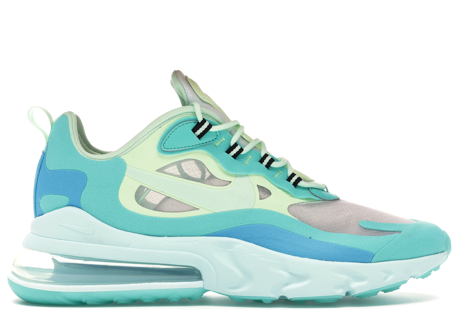 Nike Air Max 270 React Hyper Jade//Frosted Spruce Men/'s Trainers in Various Sizes