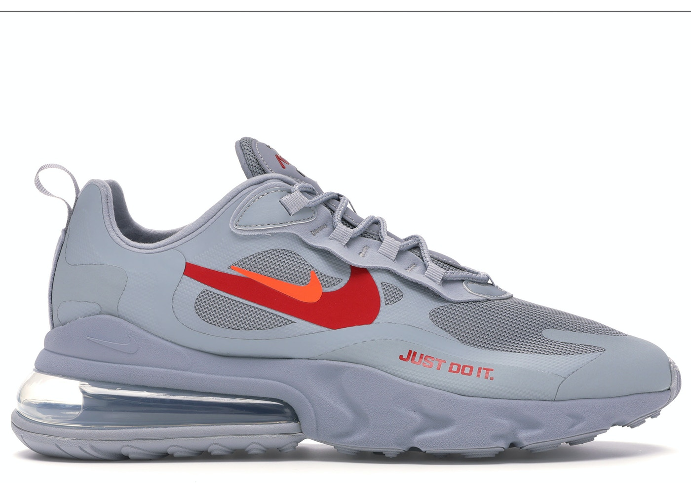 aventuras Negrita patio de recreo  Nike Air Max 270 React Just Do It Grey - CT2203-002
