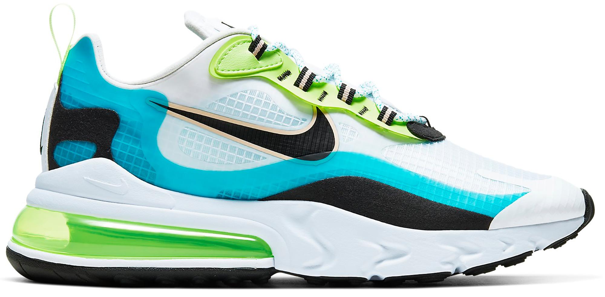 Nike Air Max 270 React Oracle Aqua