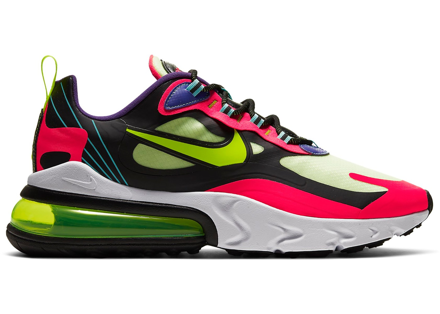 Nike Air Max 270 React Parachute Cu4705 001