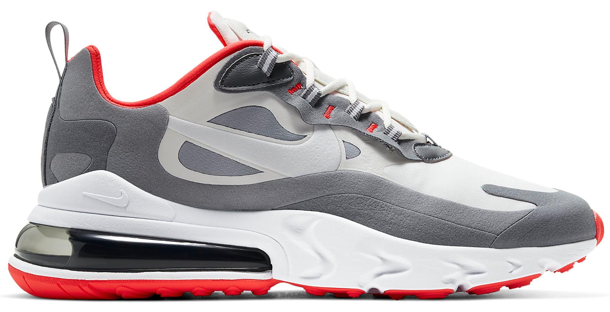 Nike Air Max 270 React Smoke Grey Red