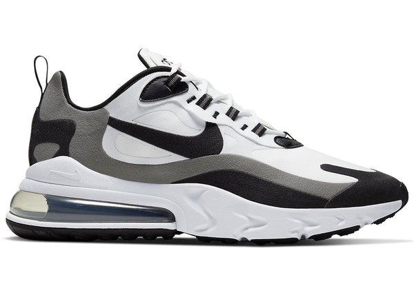 Nike Air Max 270 React White Black Metallic Pewter Ct1264 101