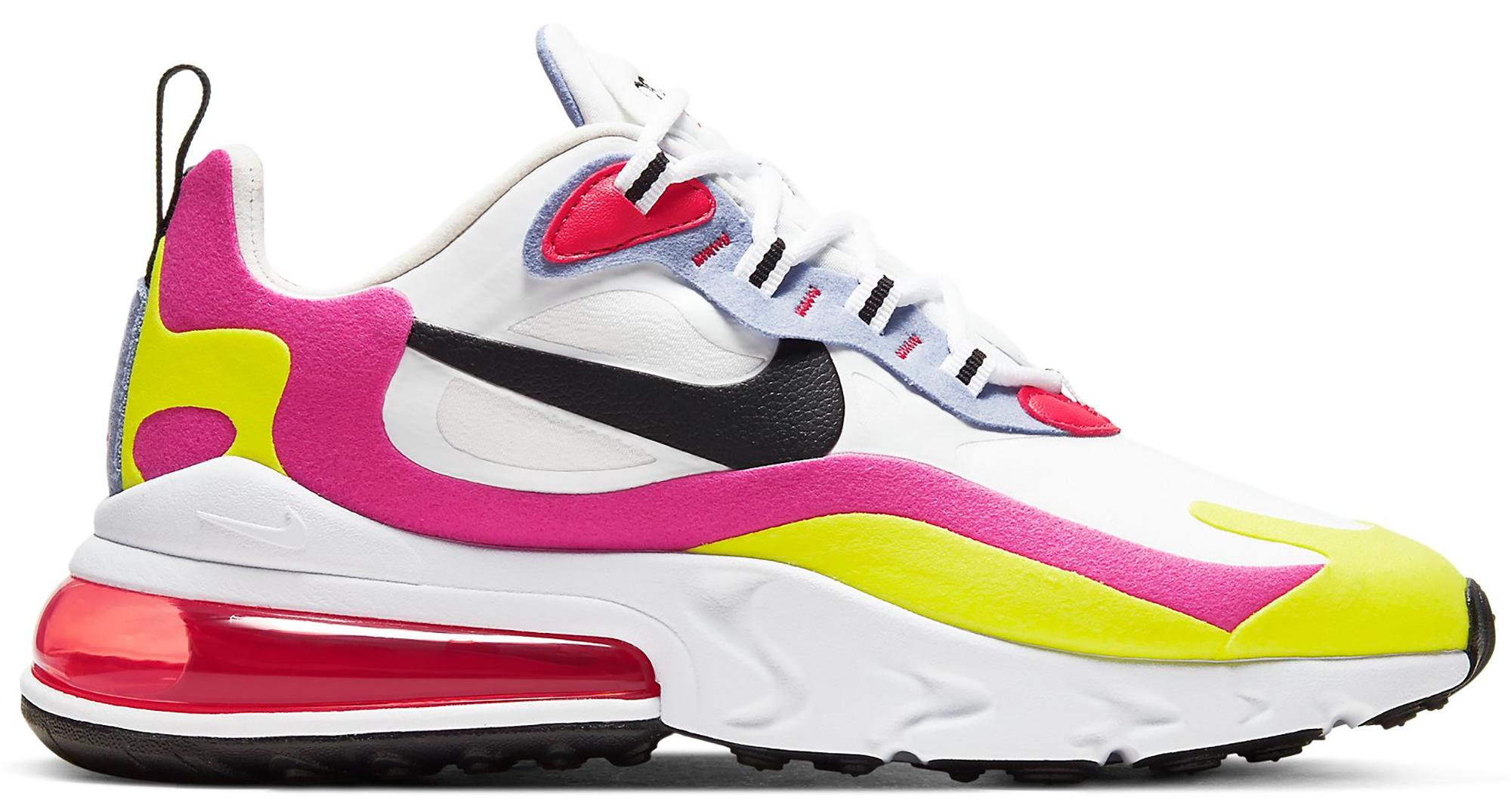 Nike Air Max 270 React White Pink