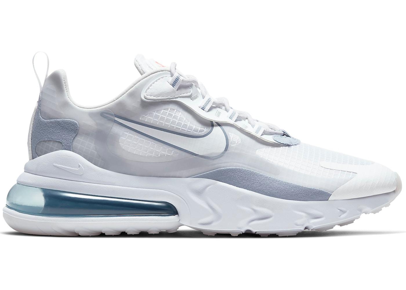 venta profesional desigual en el rendimiento grandes variedades Nike Air Max 270 React White Pure Platinum - CT1265-100
