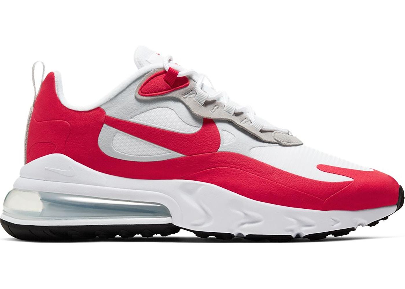 Nike Air Max 270 React White University Red Cw2625 100