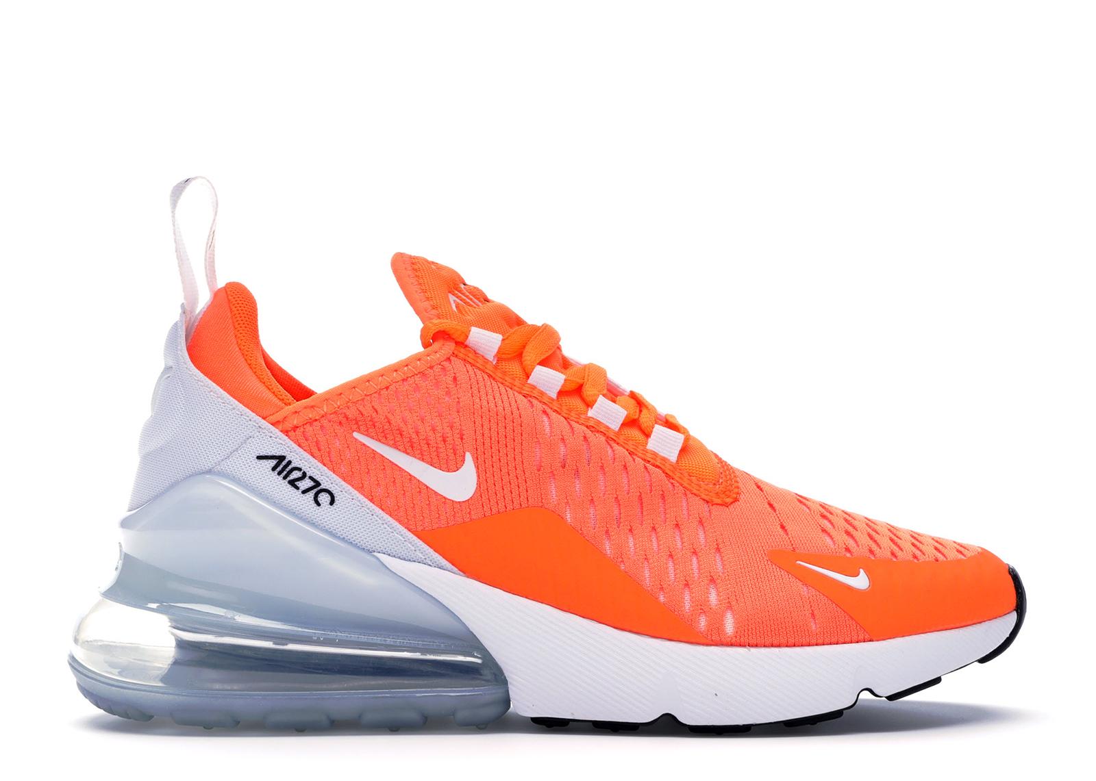 air max 270 blanche et orange