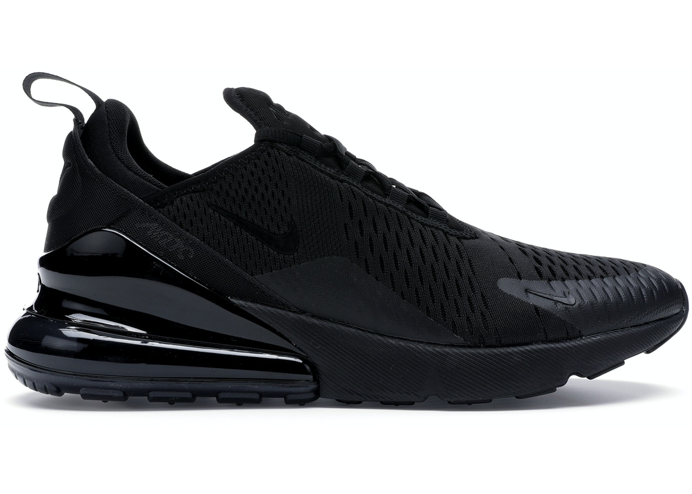 new concept a2365 8e89e Air Max 270 Triple Black
