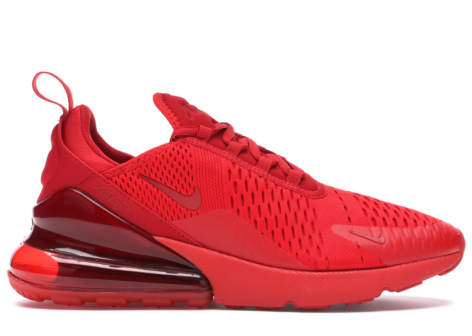 Nike Air Max 270 Triple Red - CV7544-600