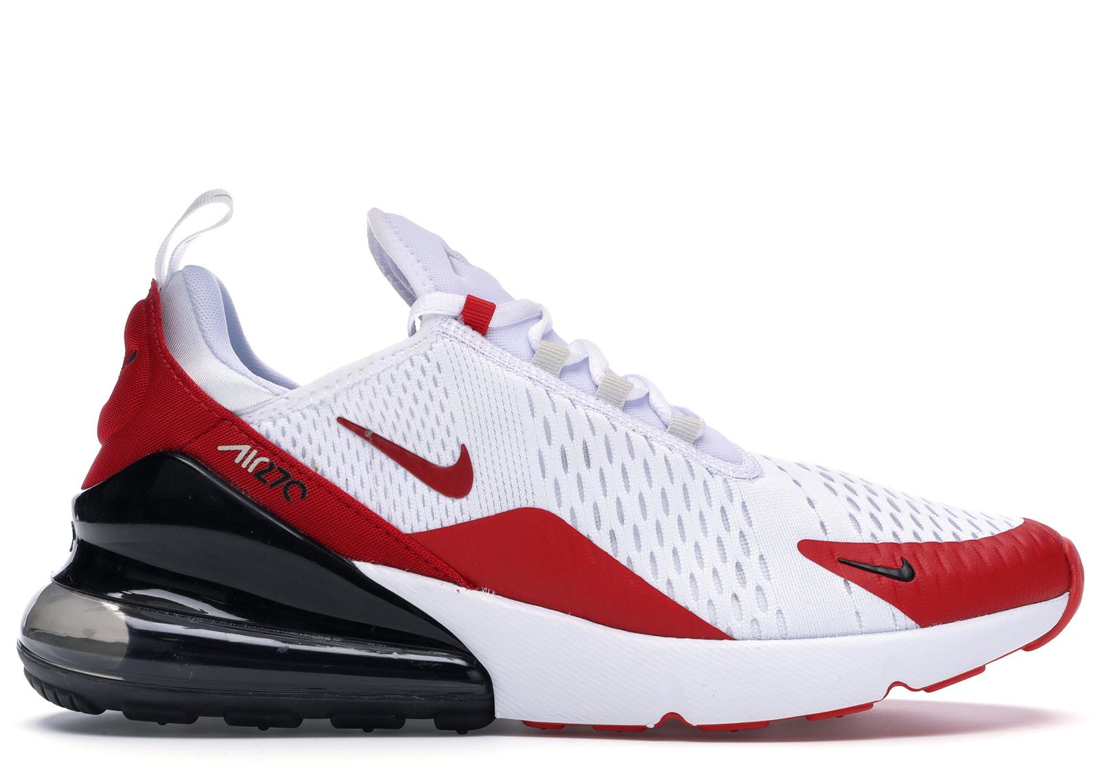 Air Max 270 White Anthracite University Red