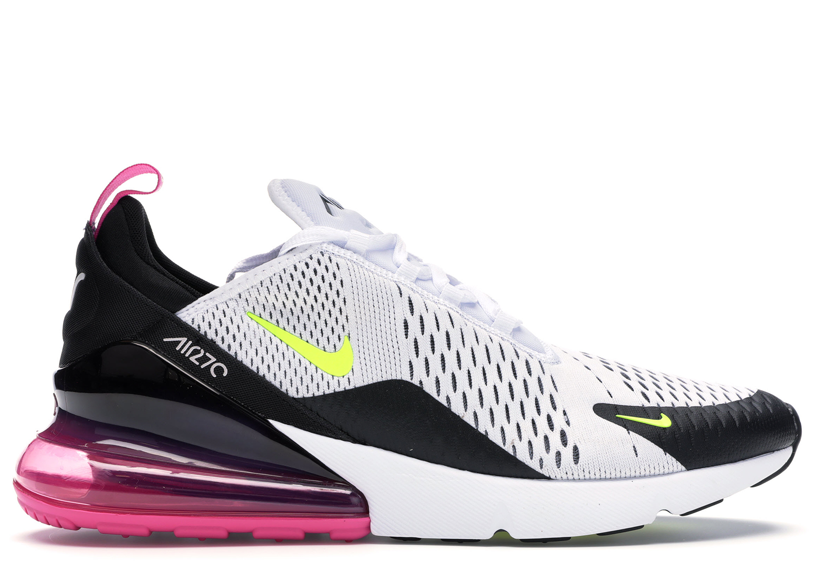 Nike Air Max 270 White Black Fuchsia