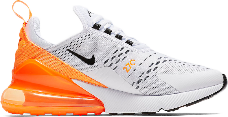 Nike Air Max 270 W 'White & Orange'