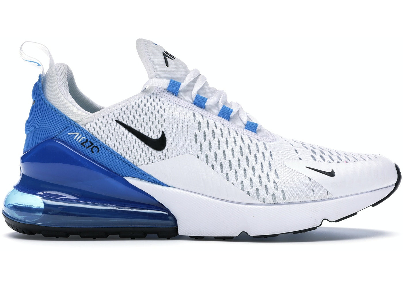 Nike Air Max 270 White Black Photo Blue Ah8050 110