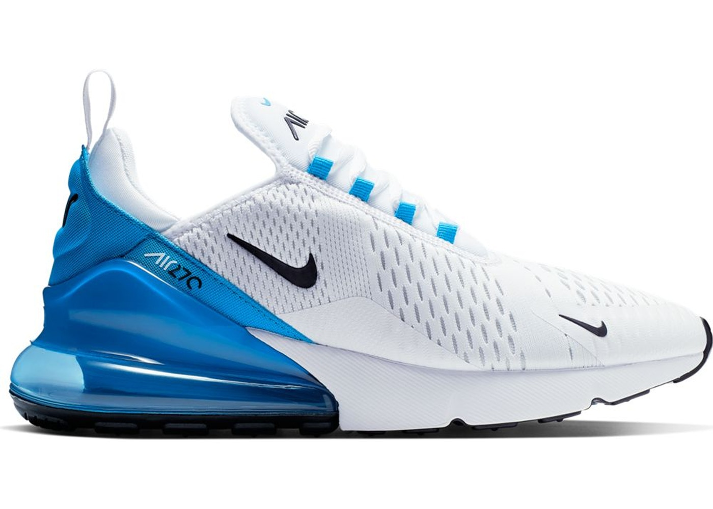 more photos f63d8 60289 Air Max 270 White Black Photo Blue