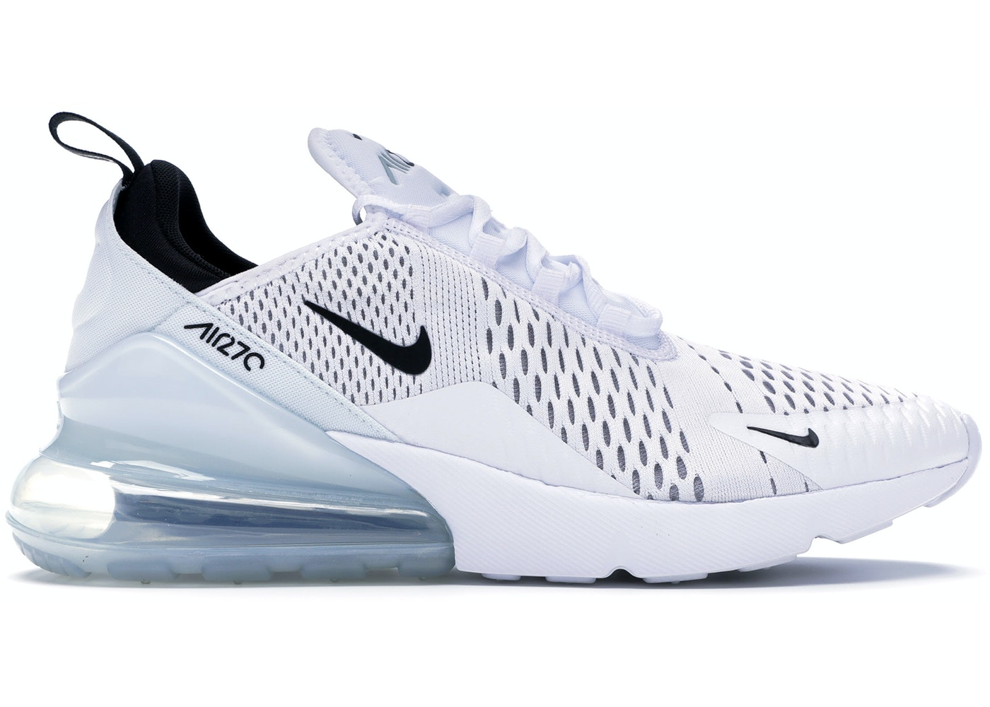 Nike Air Max 270 White Black Ah8050 100