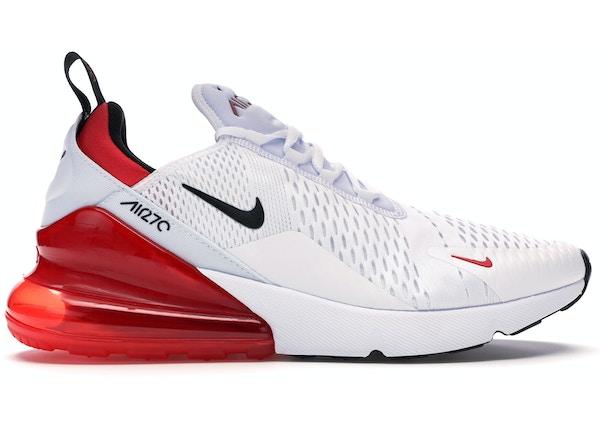buy online 722a1 ef6b4 Air Max 270 White Black University Red