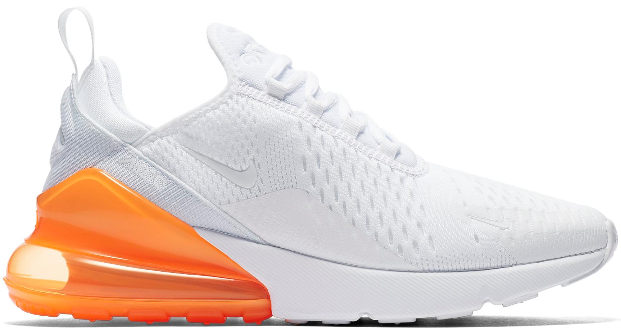 Nike Air Max 270 White Pack (Total