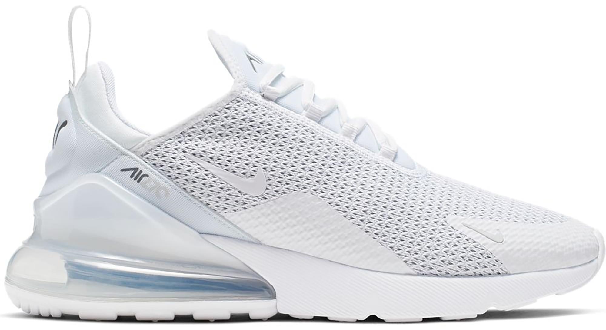 Nike Air Max 270 White Pure Platinum