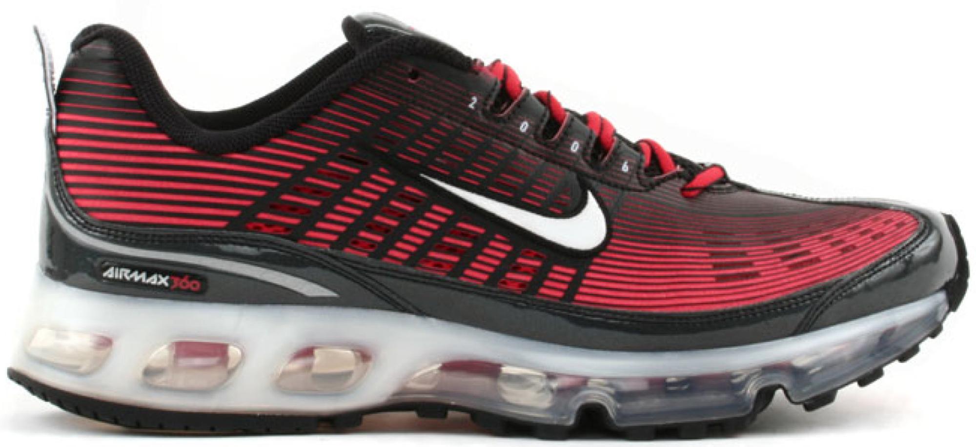 Nike Air Max 360 Black Atom Red
