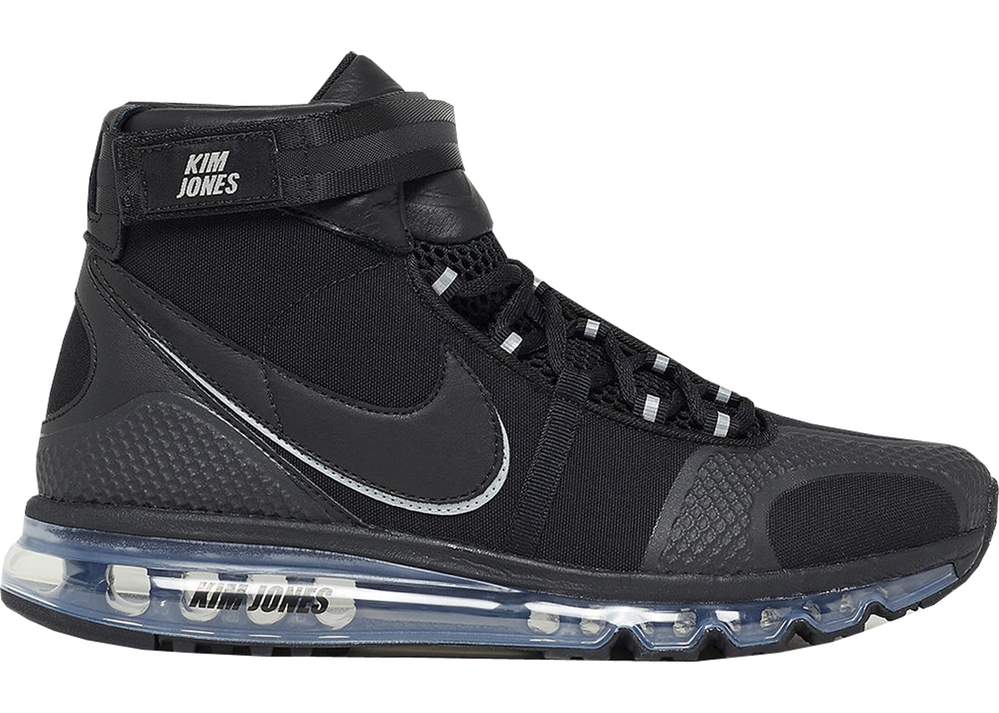 W Mega Air Max 360 Hi Kim Jones Black - AO2313-001 ZA27