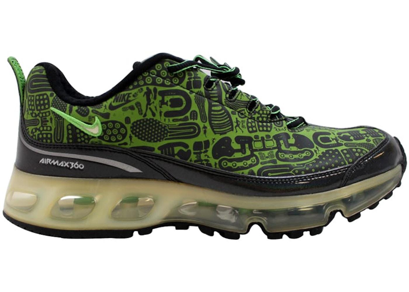 info for f056c e1ace Nike Air Max 360 Rejuvenation Black Green Bean-White