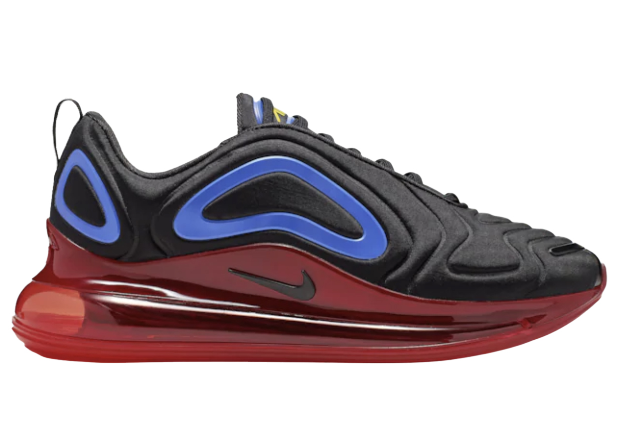 Nike Air Max 720 Black Blue Red