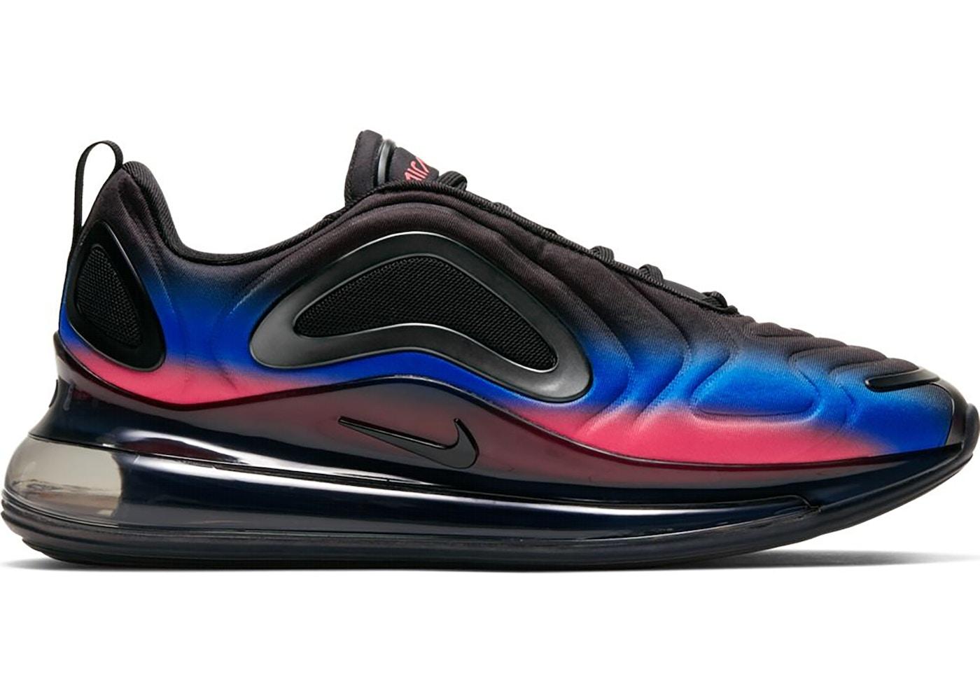 Nike Air Max 720 Black Flash Crimson Racer Blue