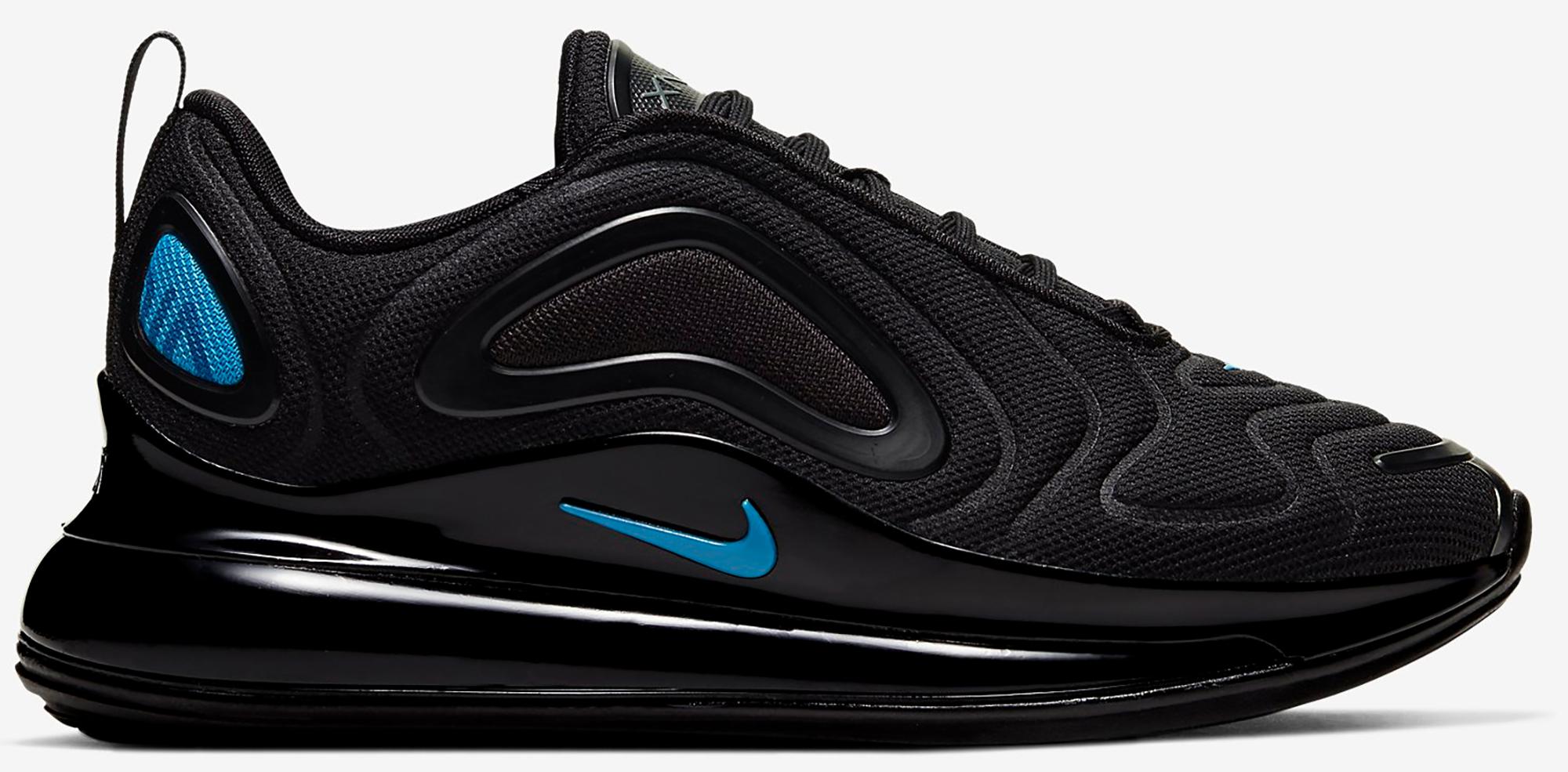 Nike Air Max 720 Just Do It Black (GS