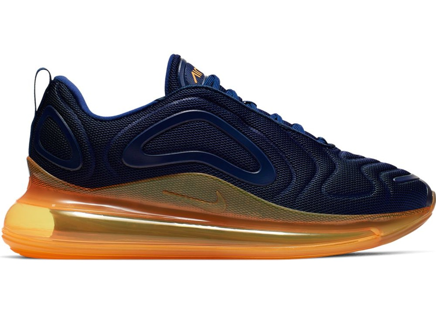Nike Air Max 720 Midnight Navy Laser Orange - AO2924-401