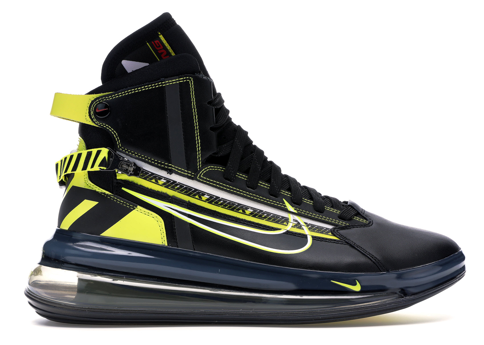 Nike Air Max 720 All Black Shoes |