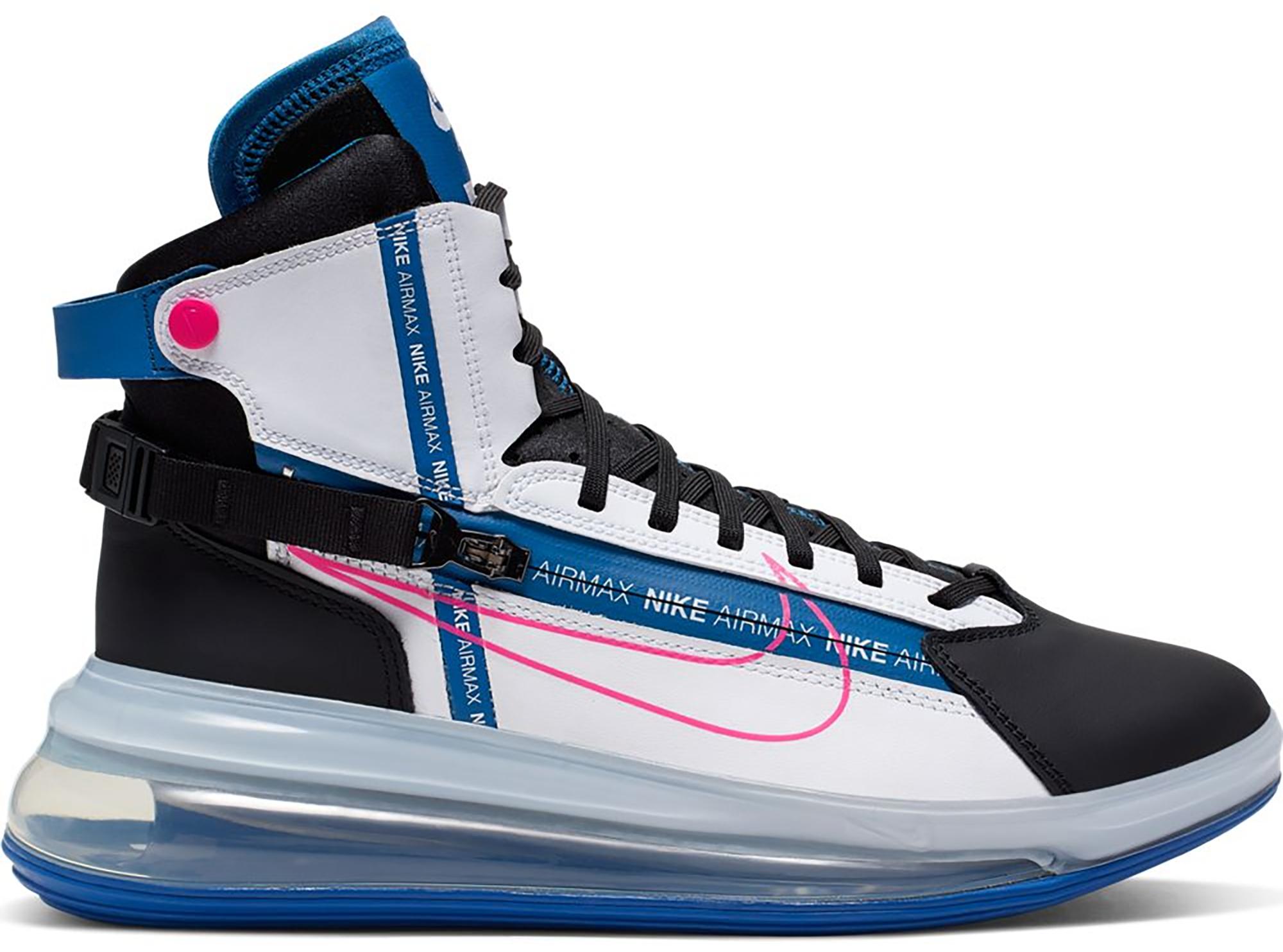 Nike Air Max 720 Strn Black Blue Pink