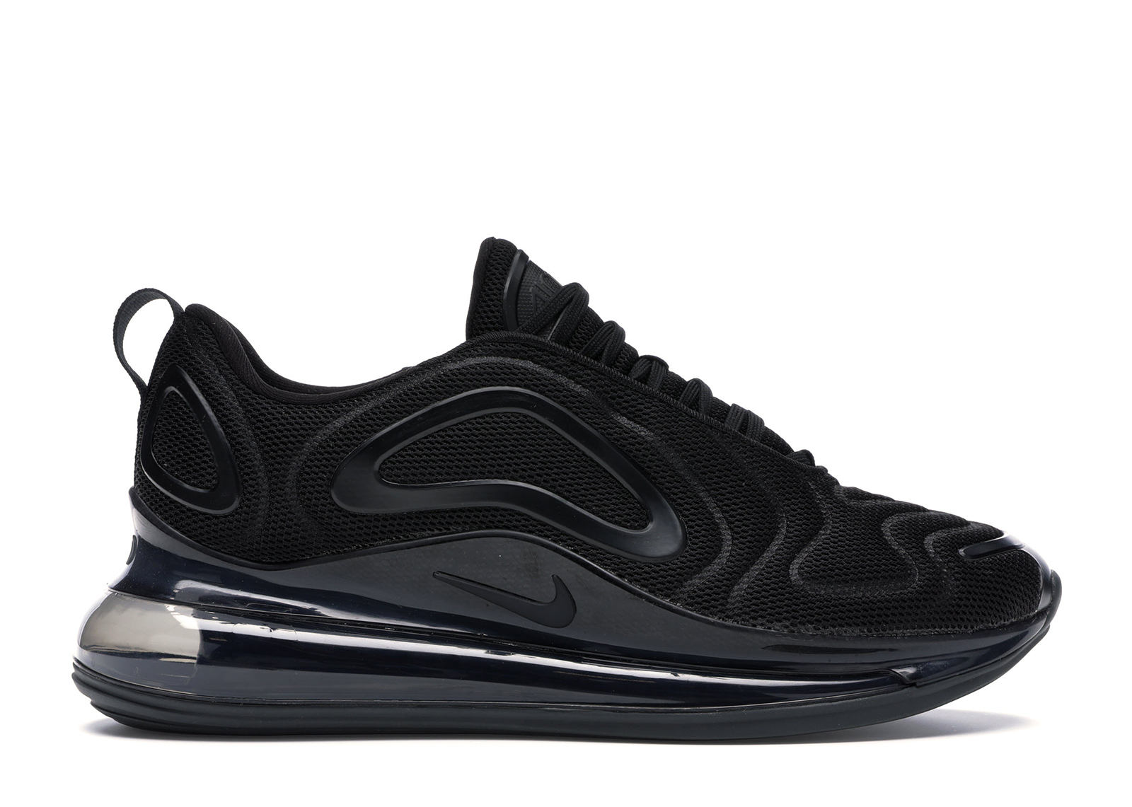 Nike Air Max 720 Triple Black (GS