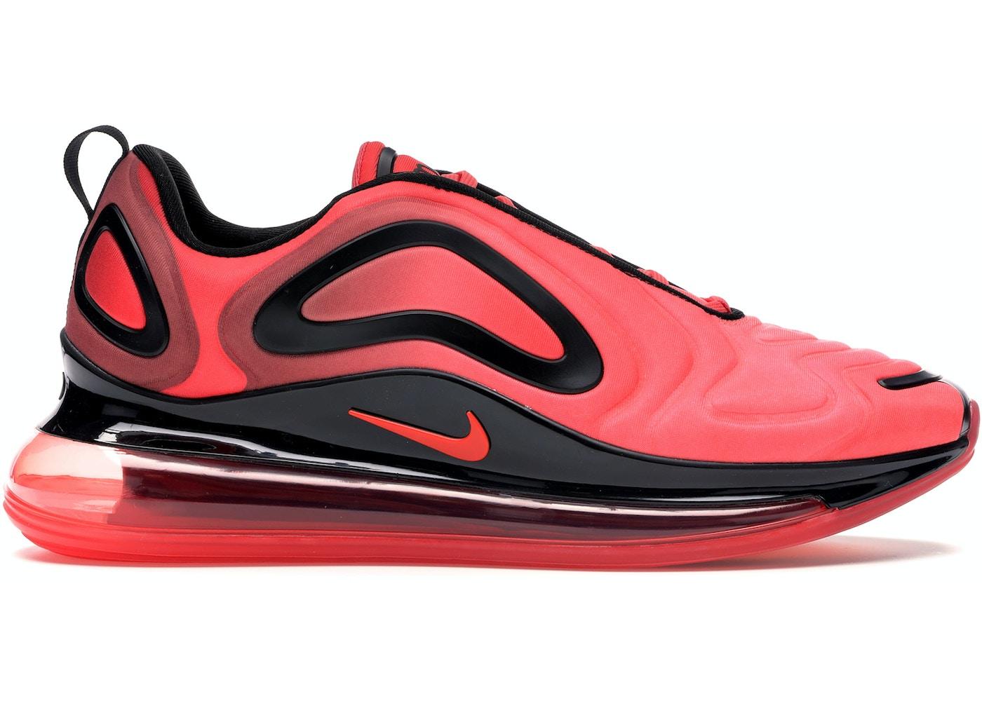 lanzar Todo tipo de capital  Nike Air Max 720 University Red Black - AO2924-600