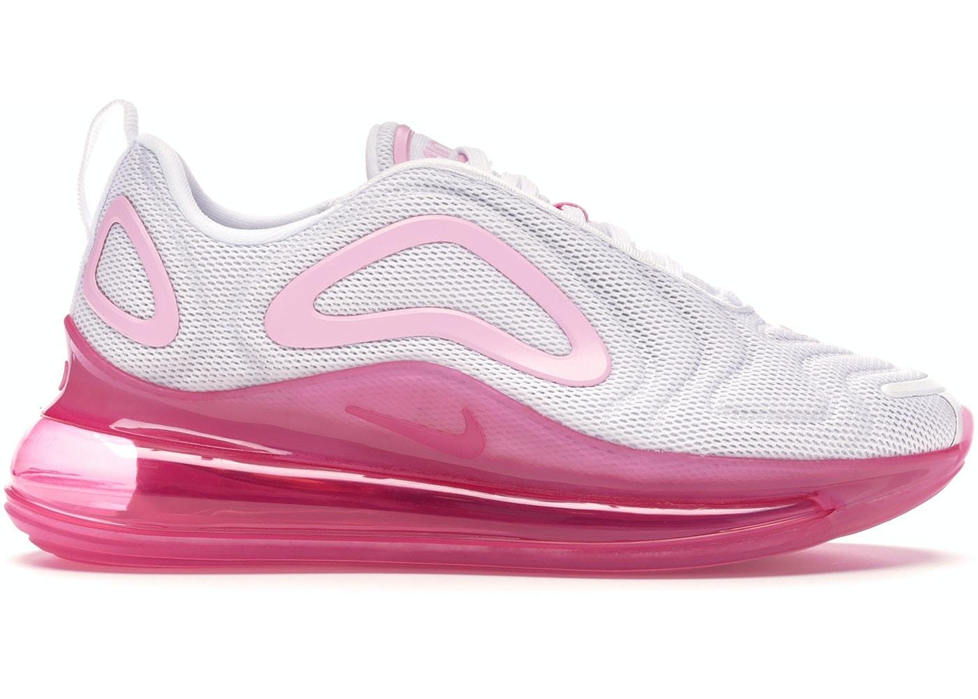 auricular ozono defensa  Nike Air Max 720 White Pink Rise Laser Fuchsia (W) - AR9293-103