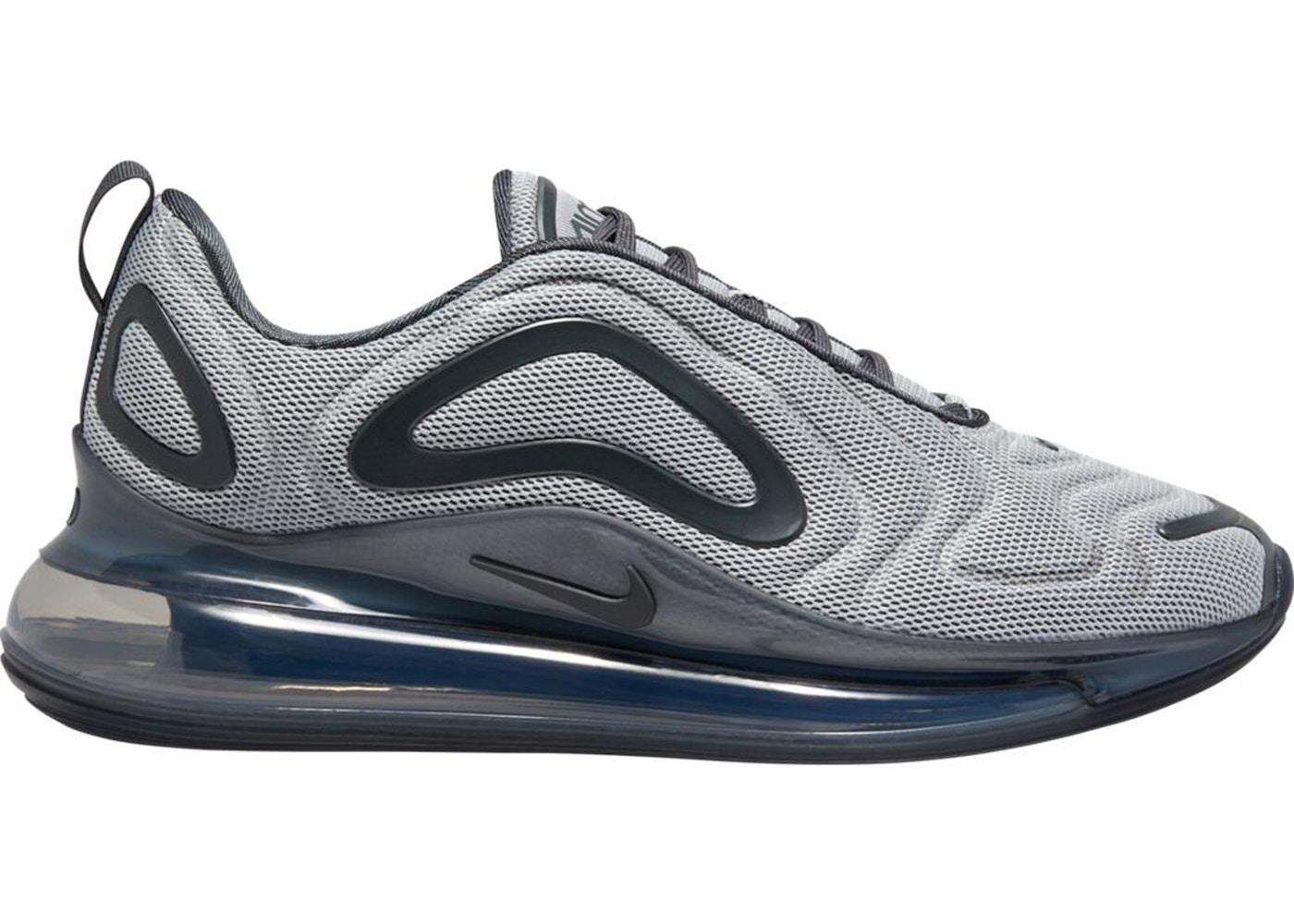 Shoptagr | Nike Air Max 720 Sneakers In Grey by Nike