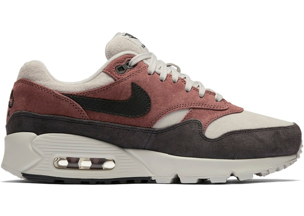 b61792d5db1 Air Max 90 1 Red Sepia Oil Grey (W)