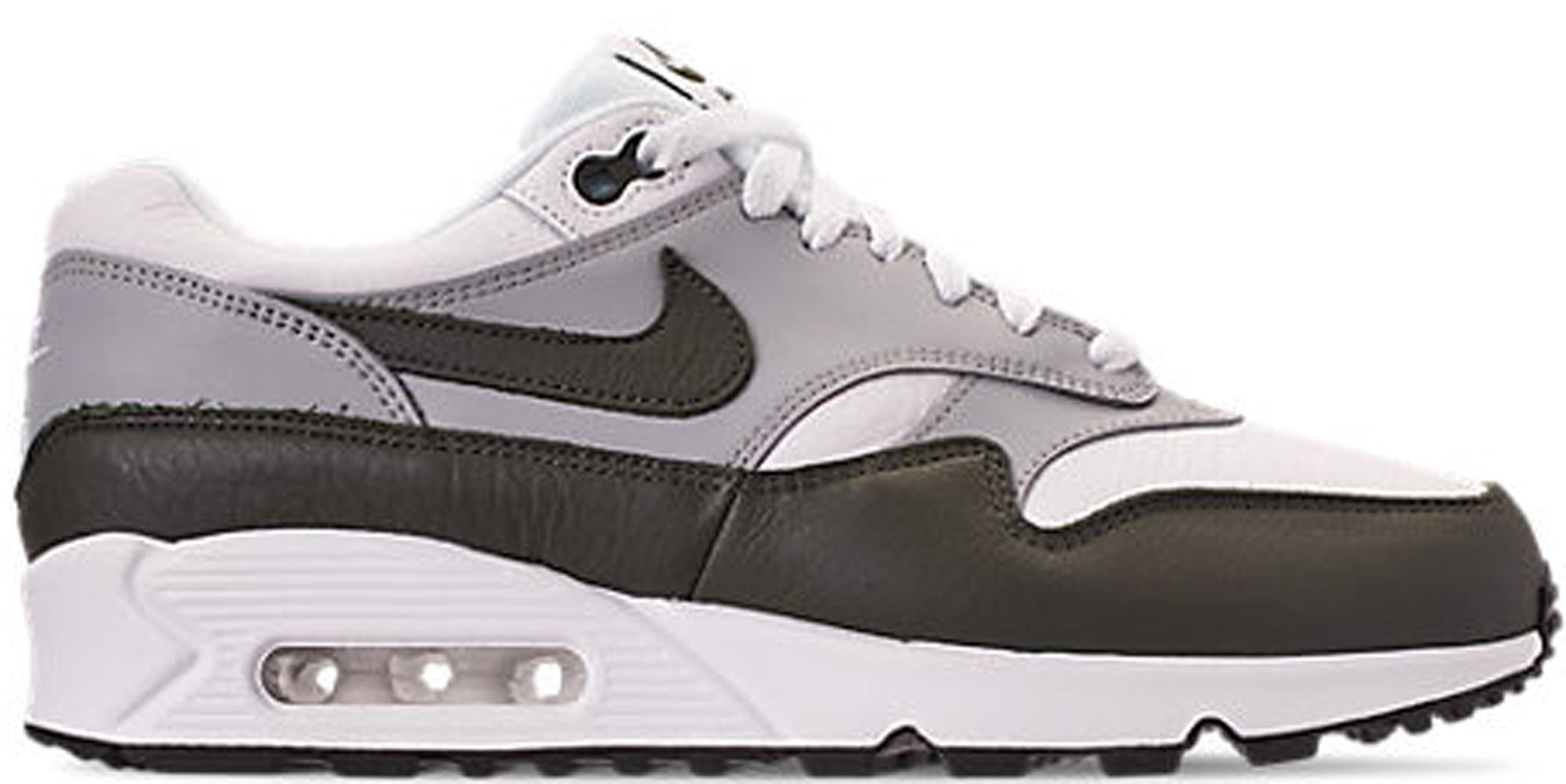 NIKE Kie Ney AMAX 90 1 sneakers men AIR MAX 901 AJ7695 105 white white