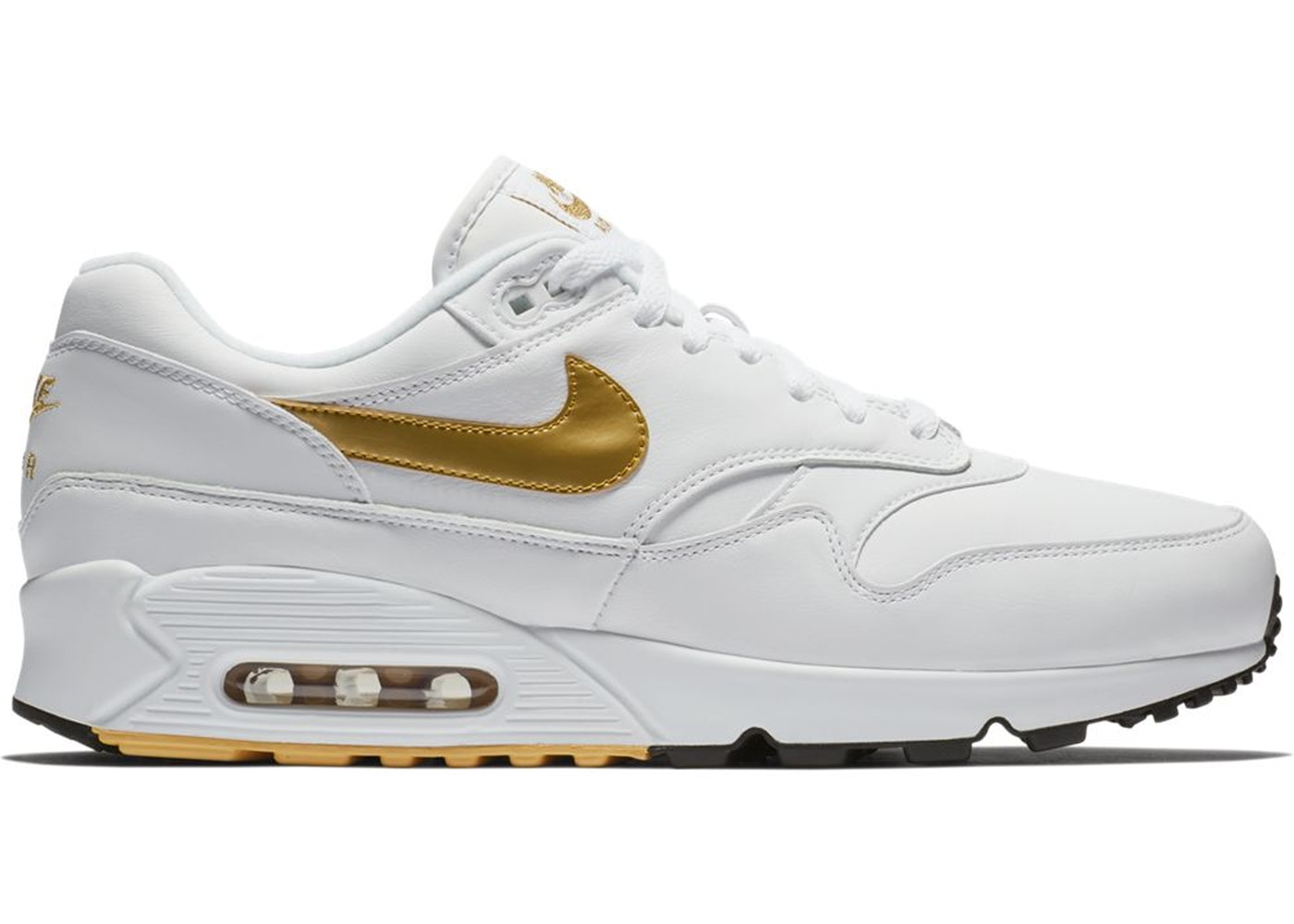 c98e356dc857 Air Max 90 1 White Gold - AJ7695-102