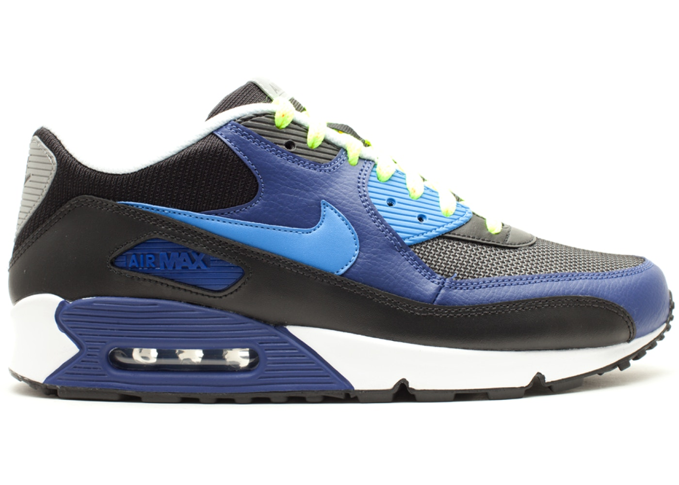 Nike Air Max 90 Blackvibrant Blue varsity Royal ACG 309299