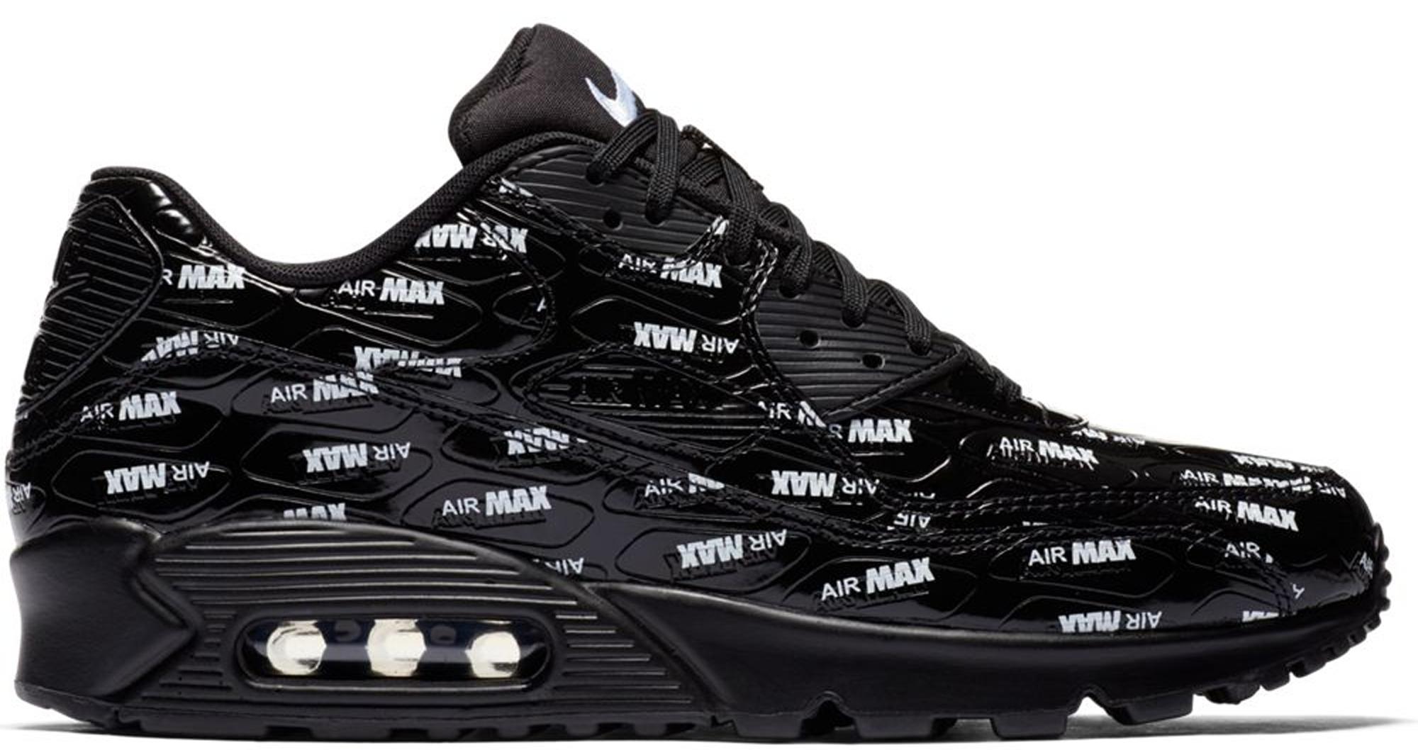 Nike Air Max 90 All-Over Print Black