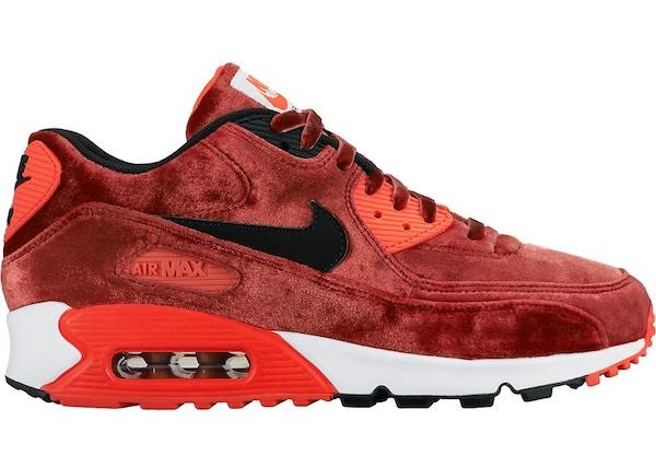 Nike Air Max 90 Anniversary Sneakers Red   ModeSens
