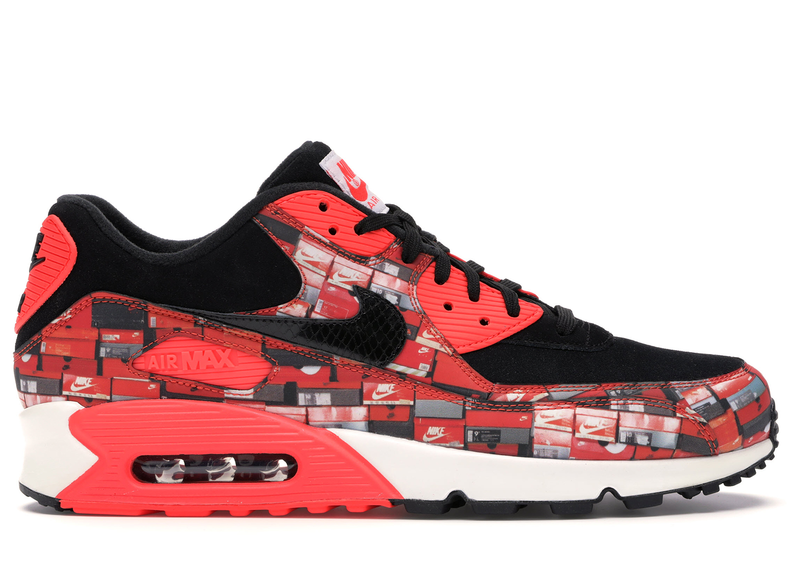 Nike Air Max 90 Atmos We Love Nike (Bright Crimson)