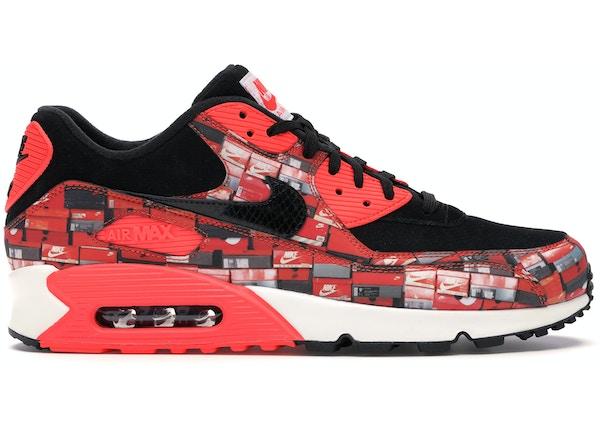timeless design a8e1f 540c8 Air Max 90 Atmos We Love Nike (Bright Crimson)