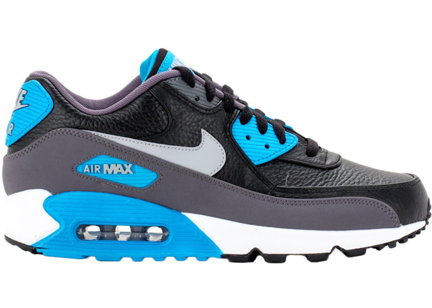 pollo Burma Maryanne Jones  Nike Air Max 90 Black Blue Lagoon - 652980-004