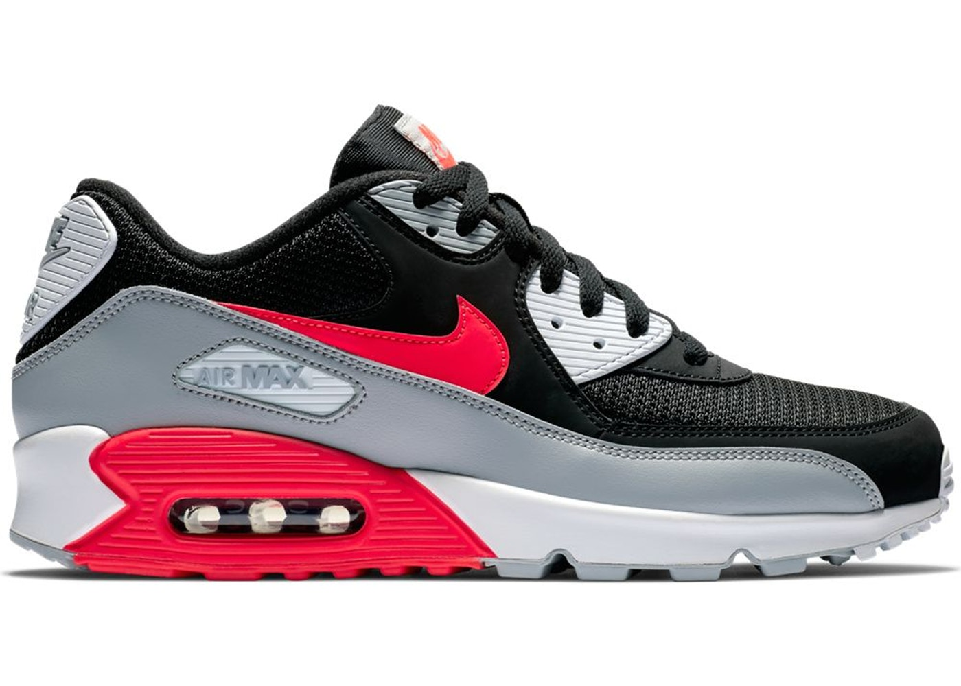 Air Max 90 Black Bright Crimson